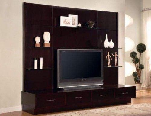 Flat Screen Tv Wall Designs Lcd Units Design For Your Modern Offiice Pictures