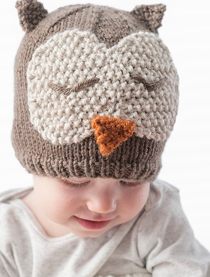 Sleepy Owl Baby Hat Pattern | Pinterest | Baby hat patterns, Baby ...