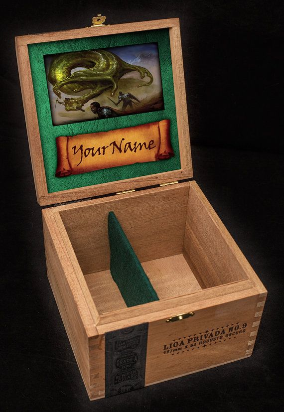 Custom Wood Mtg Deck Boxes Wooden Thing