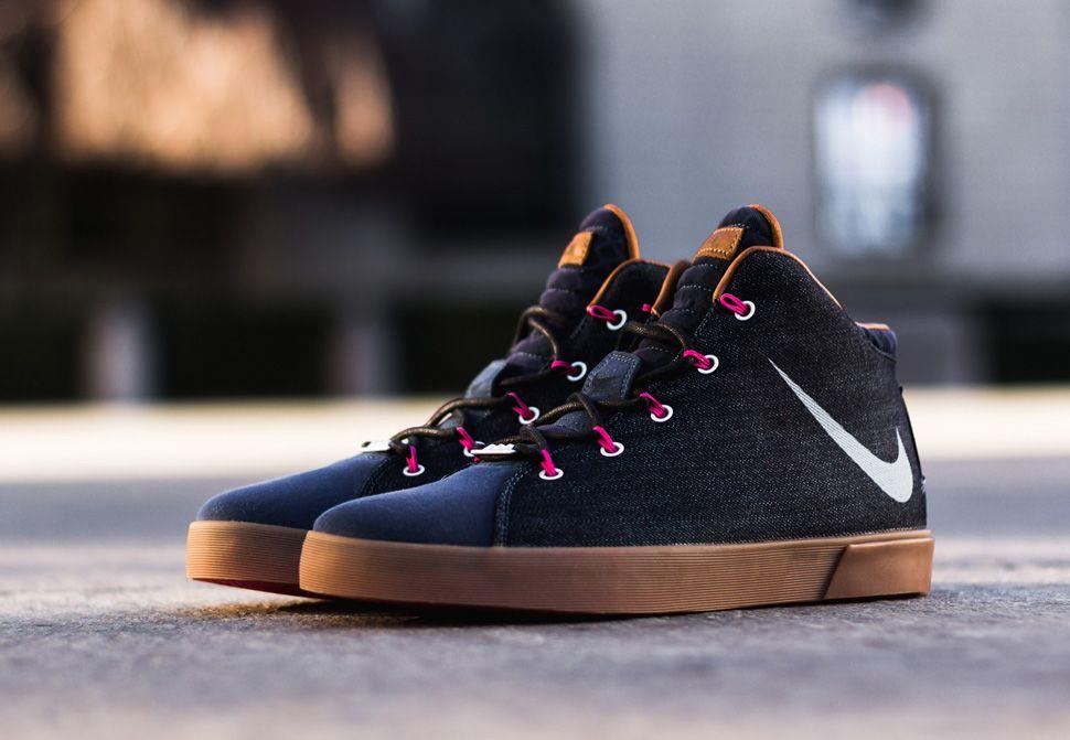 "buy popular 0a90f 03bf0 Nike LeBron 12 NSW Lifestyle ""Denim"""