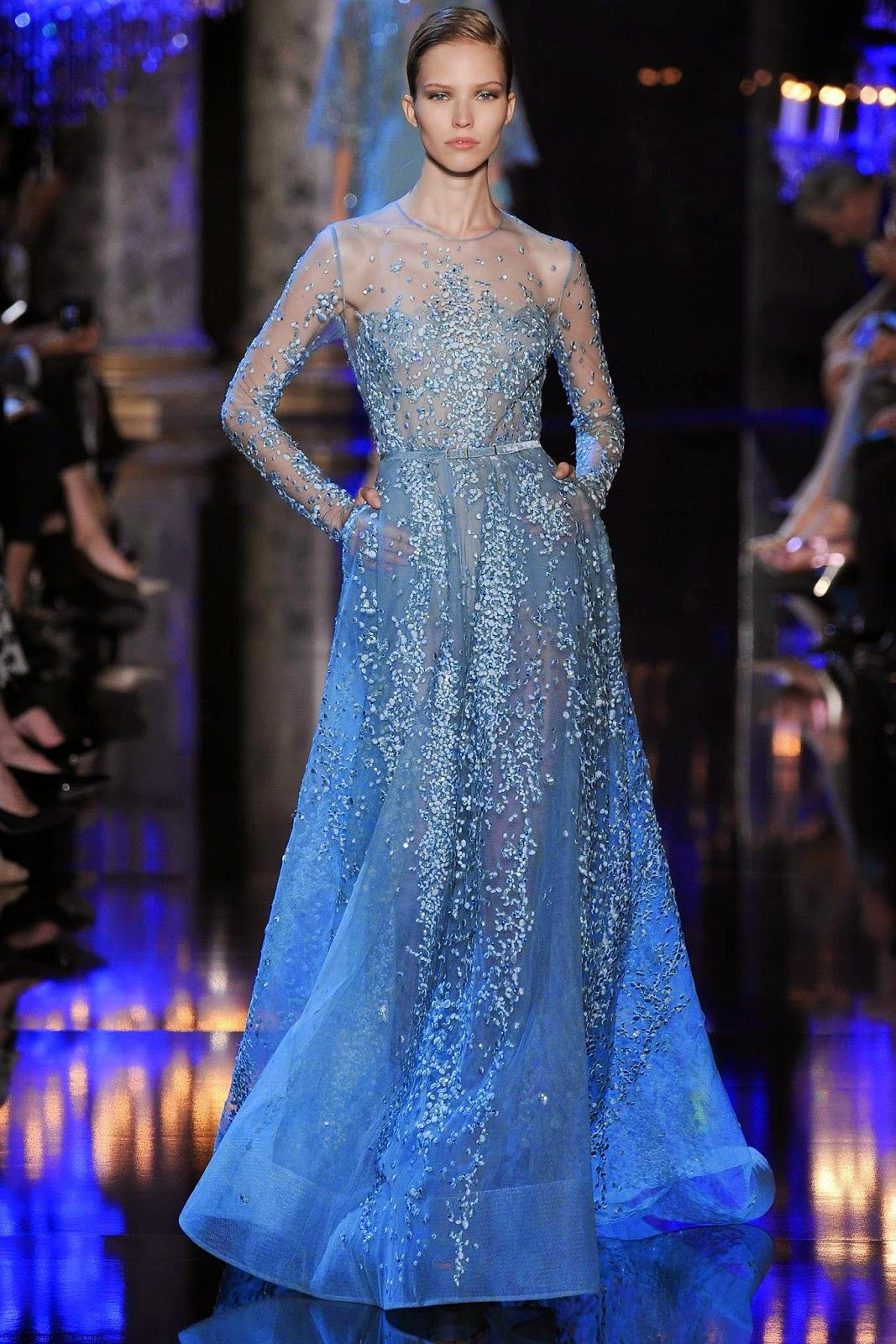 Collection haute couture Elie Saab automne-hiver 2014-2015