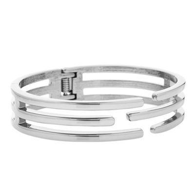 Principles By Ben De Lisi Designer Silver Caged Bangle Debenhams