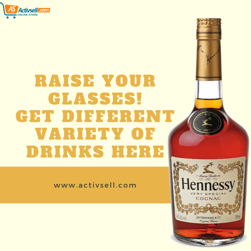 Hennessy Hennessy Very Special Cognac Campari Wine Bottle