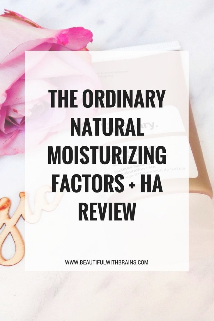 The Ordinary Natural Moisturising Factors + HA strengthens your skin's protective barrier against the elements and intensely moisturises it, leaving it soft and smooth all winter long. #skincare #dryskin #theordinary #sensitiveskin