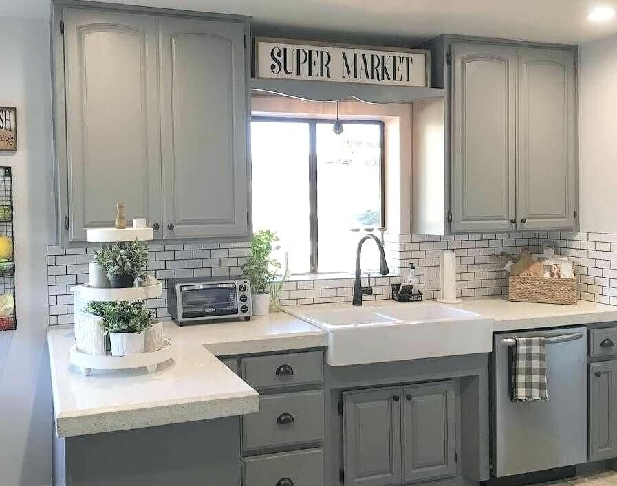 Image Result For Industrial Farmhouse Kitchen Stained Kitchen Cabinets Kitchen Cabinet Design Kitchen Renovation
