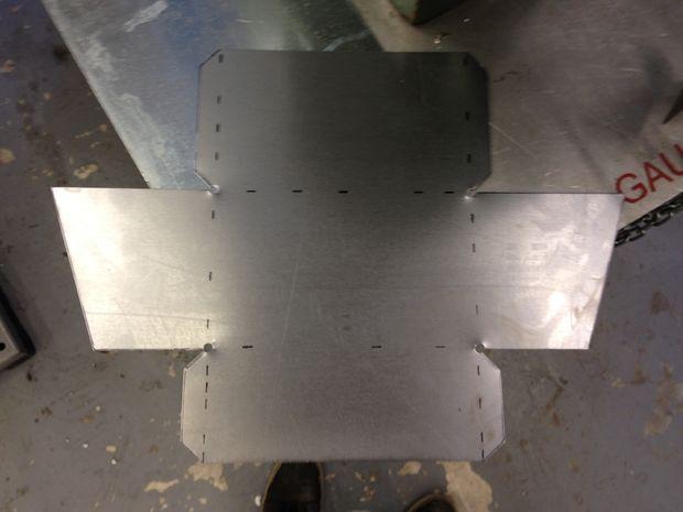 How To Make A Sheet Metal Box Spot Welder Finger And