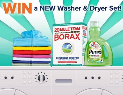 Purex washer and dryer sweepstakes