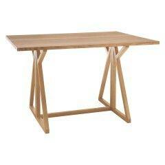 Habitat.co.uk  'Heath' narrow fold out table £195 90x120 extended (45x120  folded in)