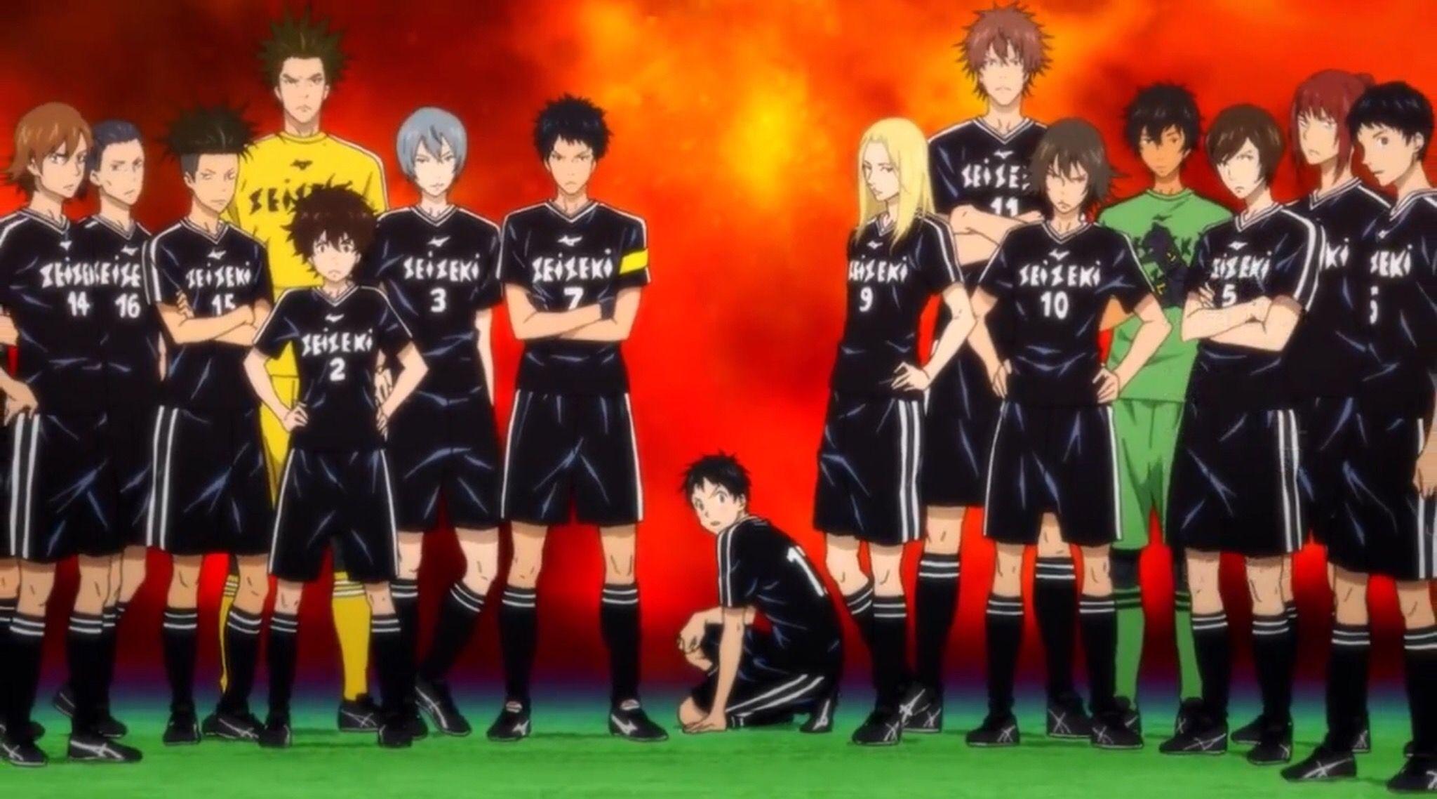Seiseki Days (TV) soccer anime