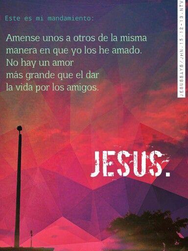 No hay un amor mas grande que el de JESUS en la CRUZ.