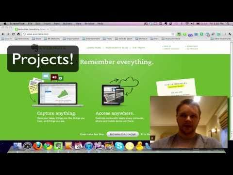 evernote how to use university