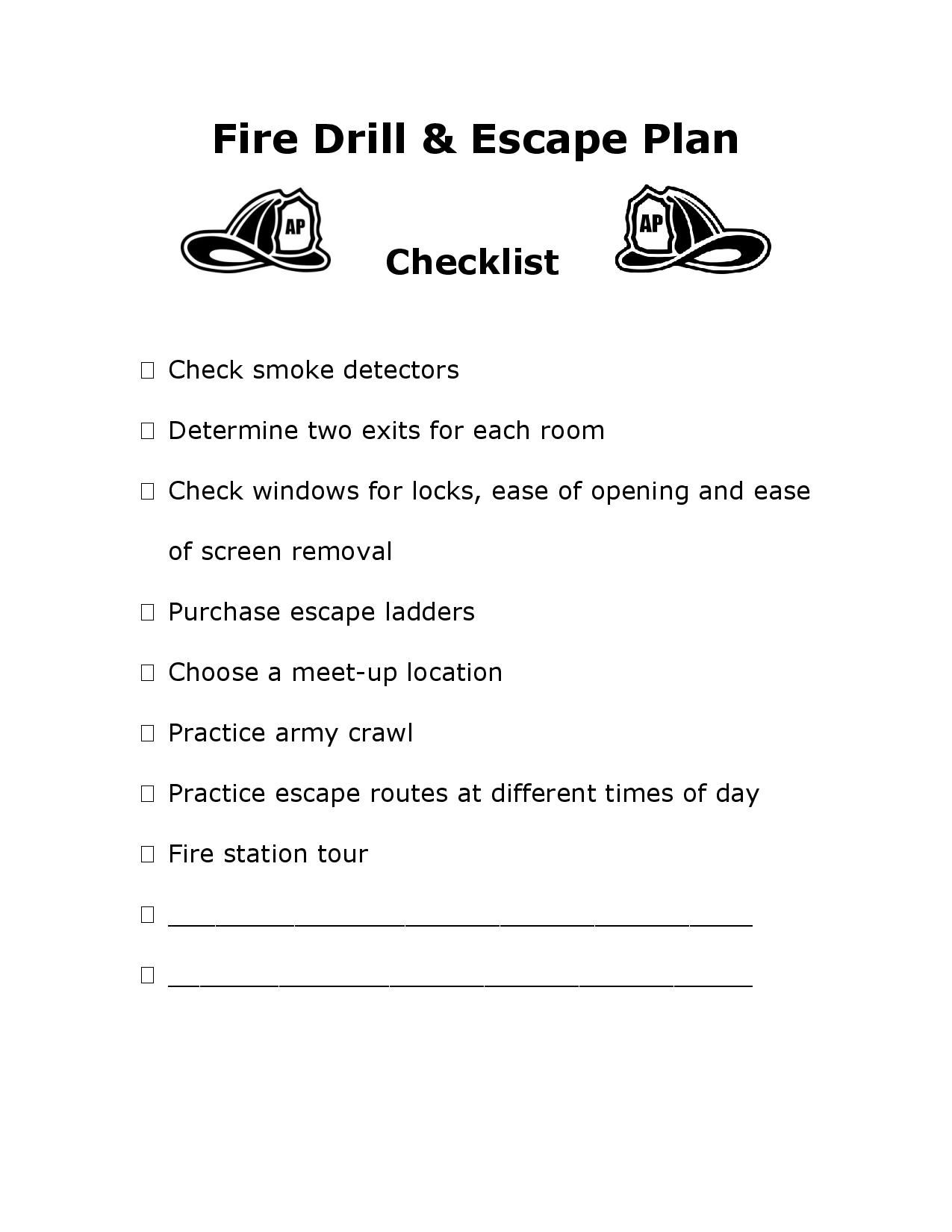 Family escape plans | Emergency Prepardness | Pinterest ...