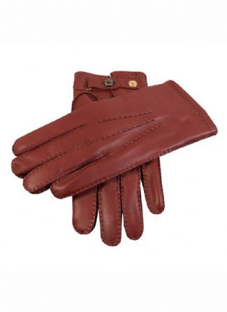 Men's Leather Gloves   Handsewn Cashmere Lined