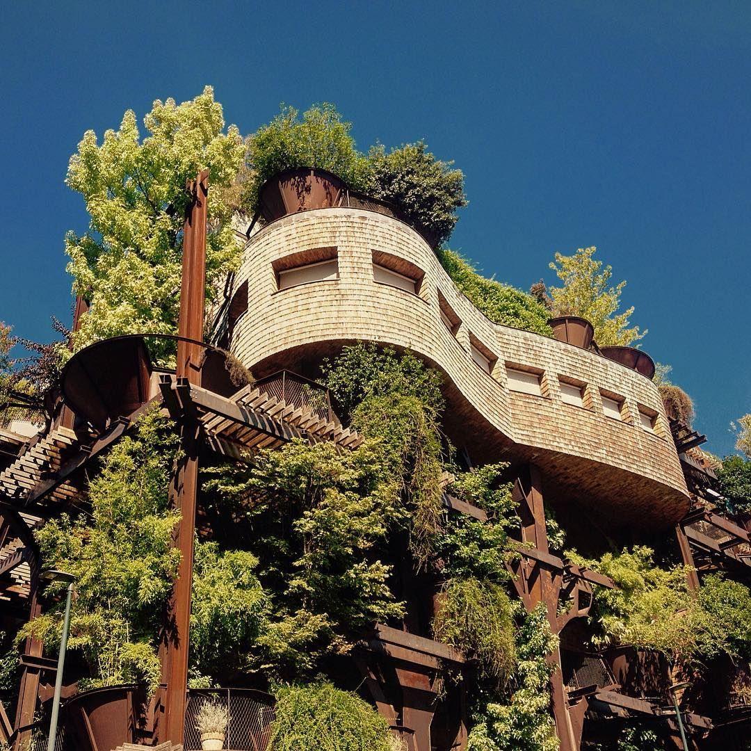 25 verde il condominio green al centro di torino casas for Casa moderna torino