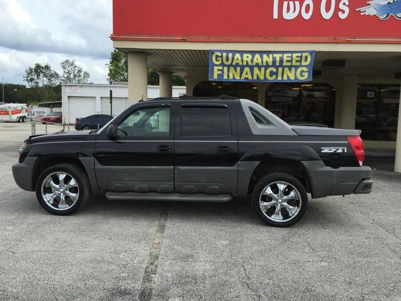 2002 Chevrolet Avalanche 1500 4dr 4wd Crew Cab Sb In Jacksonville Fl Chevrolet Jacksonville Fl Crew Cab