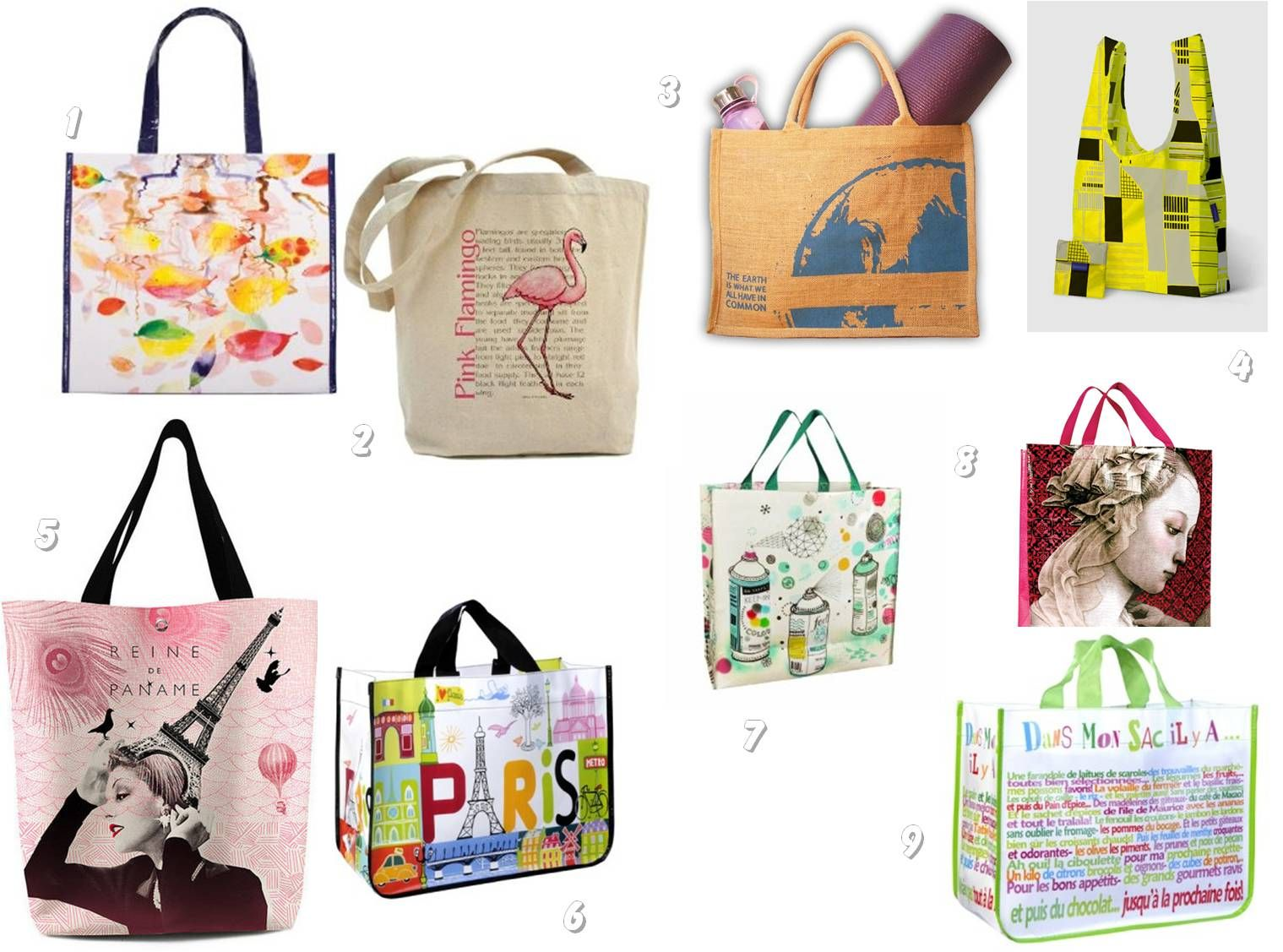 Trendy Reusable Shopping Bags | package | Pinterest
