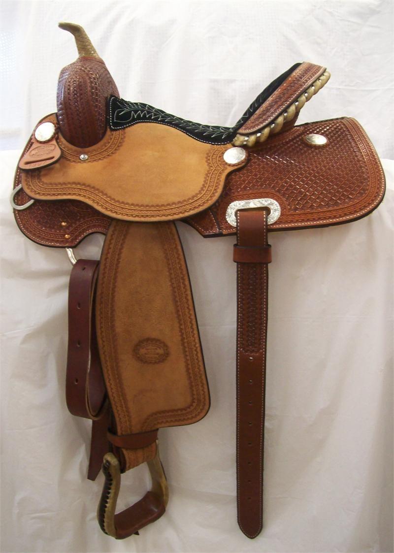 Billy Cool barrel saddle #1907. I am in love.