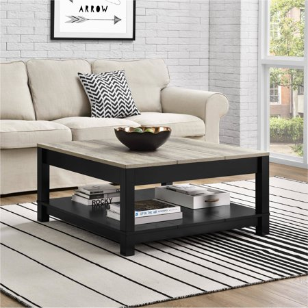 Home Square Living Room Table Coffee Table Farmhouse Coffee Table