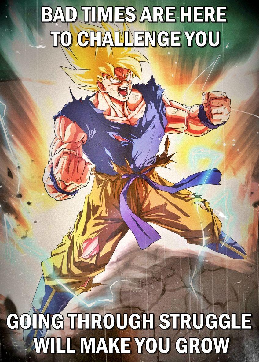 Goku Lifeadvice Lifequote Positivity Quotes Life Thislife Animeadvice Anime Dragon Ball Dragon Ball Super Goku Dragon Ball Super Manga