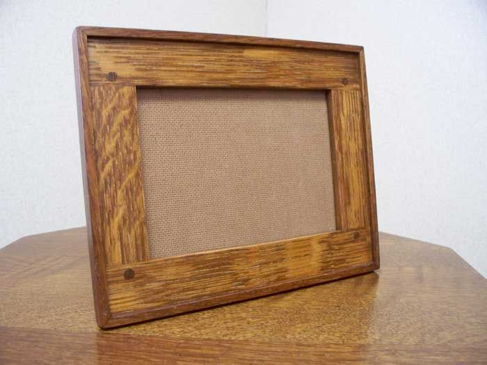 Arts And Crafts Hand Crafted Hand Hammered Copper Picture Frames