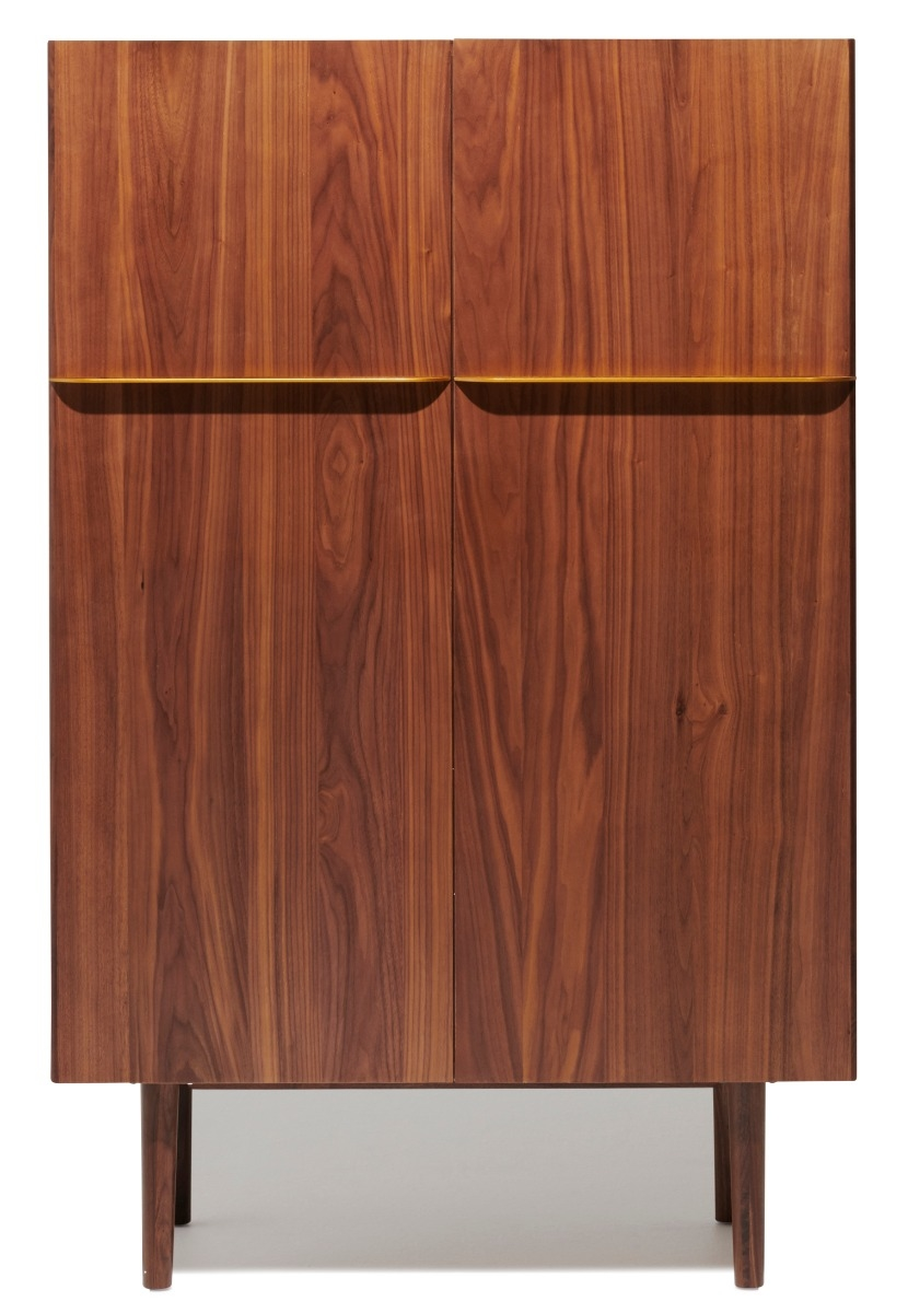 Sigma Highboard Home Decor Walnut Wood Cool Designs