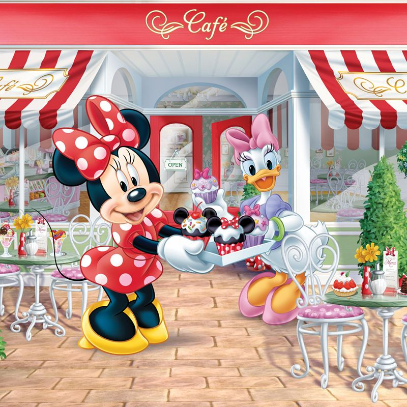 Best Cute Minnie Daisy Mickey Mouse Wall Minnie Mouse 400 x 300