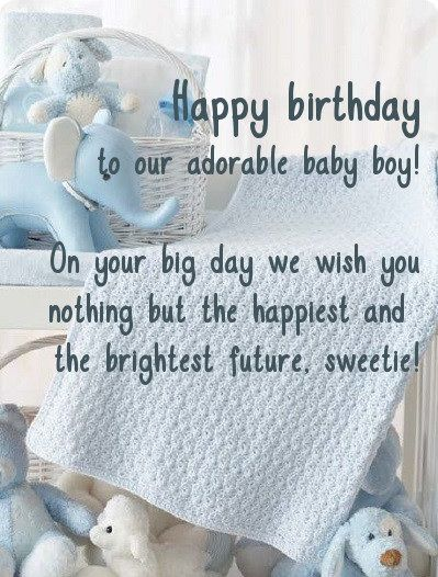 Birthday Wishes For Baby Boy Happy Birthday Wishes For Baby Boy