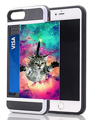 quality design 5a2c6 9f798 funny cat iphone 7 case - iPhone 7 Plus / iPhone 8 Plus Credit Card ...