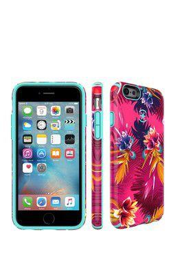 CandyShell Inked Wild Tropic Fuchsia/Mykonos Blue iPhone 6/6s Case