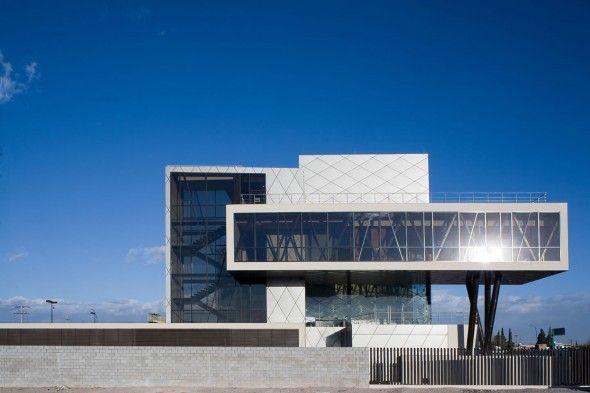 Edificio corporativo darcons arquitectura en proceso for Arquitectura moderna minimalista