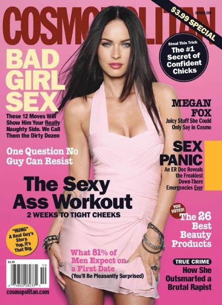 Comopolitain magazine on sex