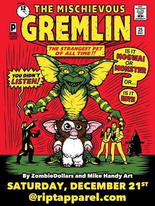 Gremlins   Creature Features   Gremlins, Movie posters