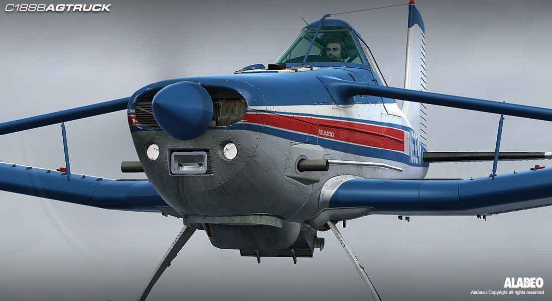 Alabeo C-188B AgTruck | Cropdusters | Microsoft flight