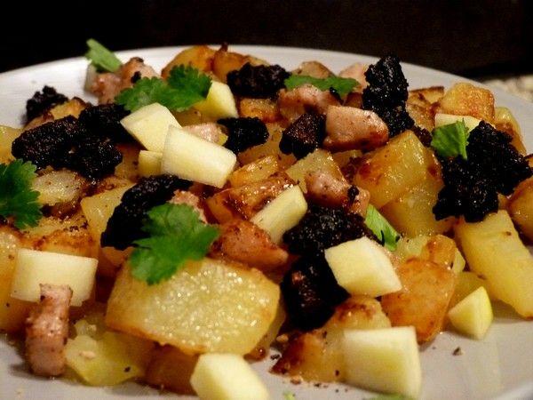 rachel-khoo-salade-pommes-de-terre-boudin