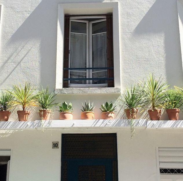 Un immeuble v g tal garden jardins int rieur et ext rieur porches - Immeuble vegetal ...