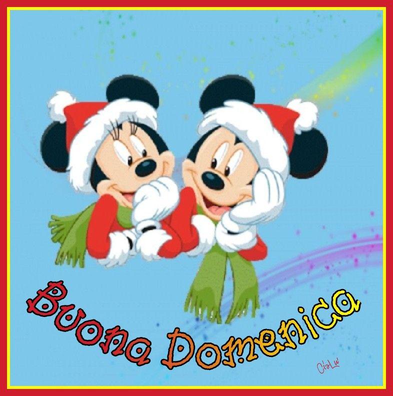 Immagini Buon Natale Disney.Buona Domenica Natale Disney Buon Natale Natale