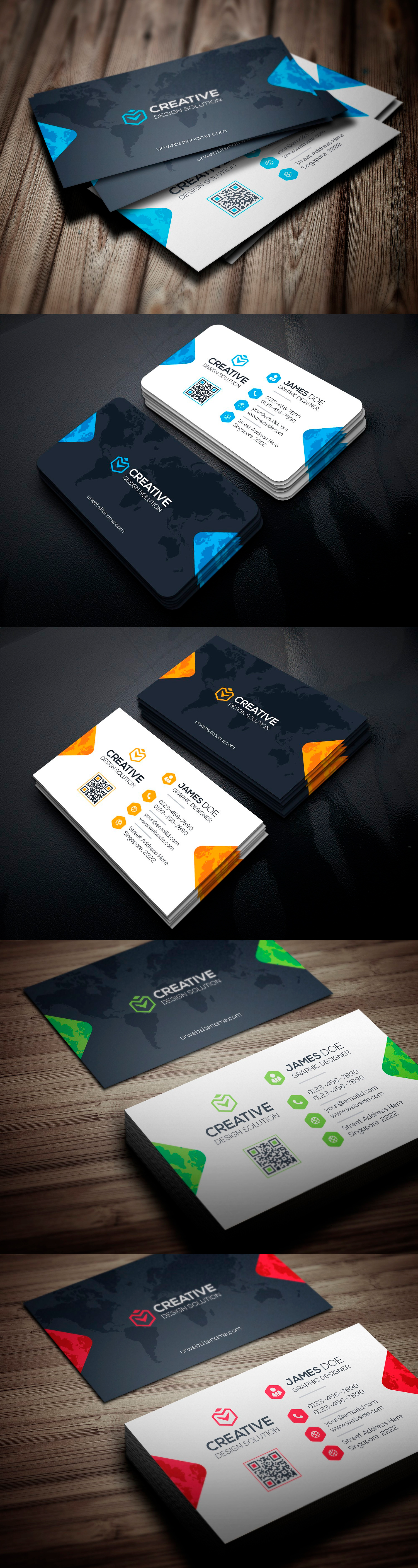 Business card template eps logo pinterest business cards card business card template eps flashek Image collections