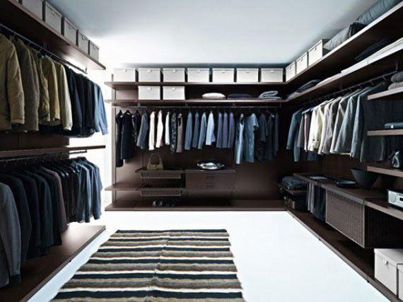 Walk In Wardrobe Ideas Closet Designs