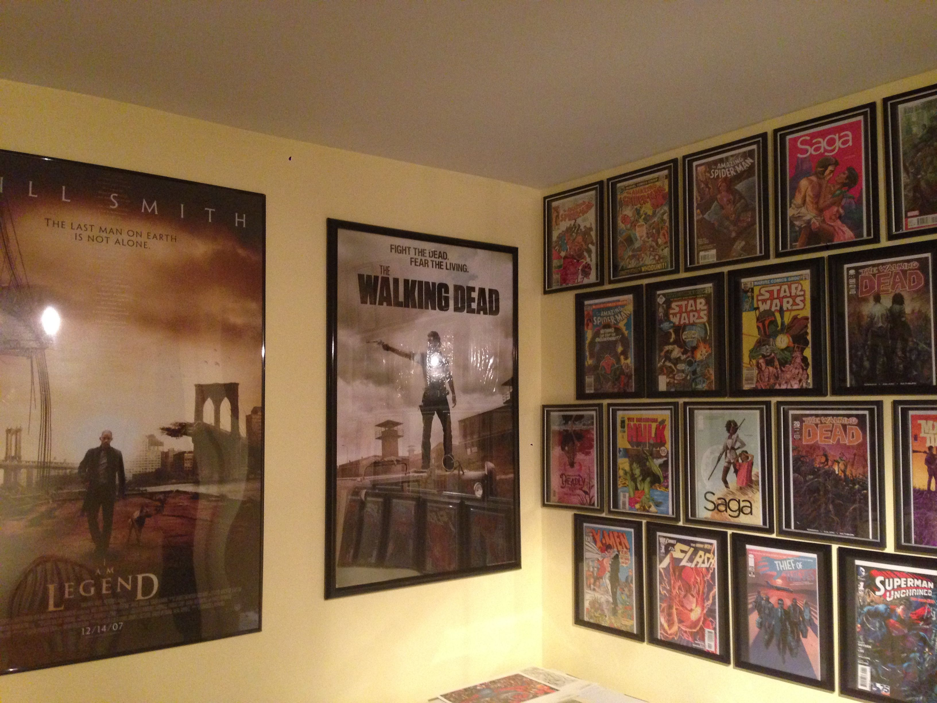 comic wall and posters walking dead poster is a 24x36 poster and