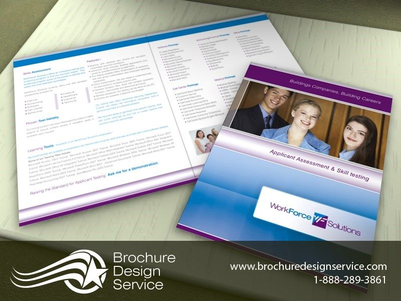Staffing Firm Brochure Designs Samples Ideas Templates Http - Brochure samples templates