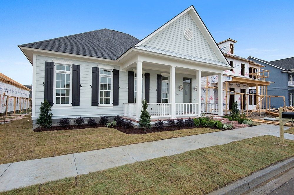 The Krauss built by Level Homes in Zachary, LA. | Americana Homes ...