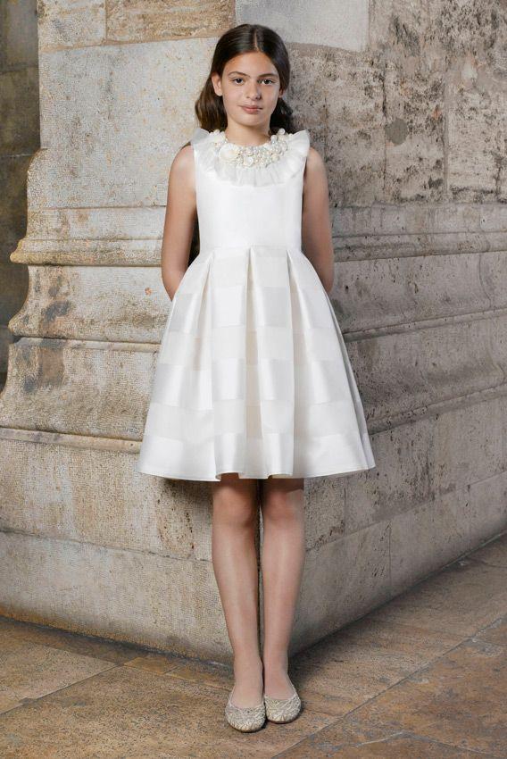 2940c070a vestidos de comunión cortos