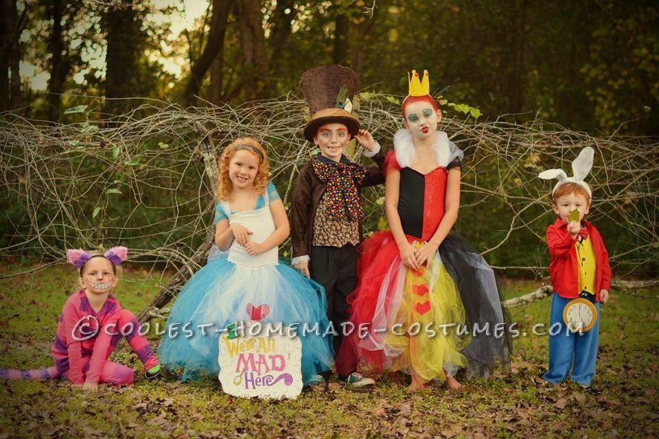 Cool Family Alice In Wonderland Costumes Alice In Wonderland