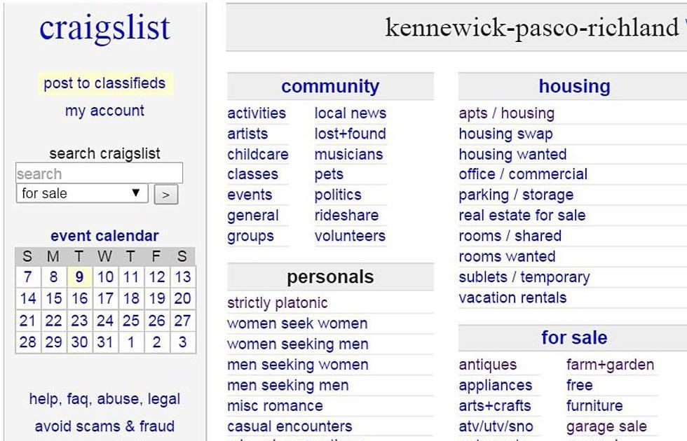 Craigslist Kennewick Pasco Richland Translator For Items Western