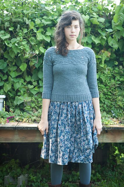 Sibella Pullover by Carrie Bostick Hoge for Quince & Co.