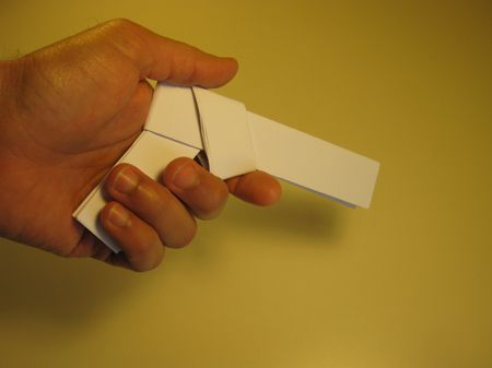 Paper Gun Fold