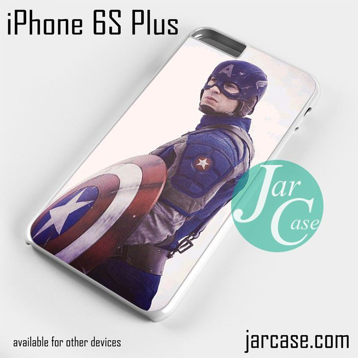 Captain America Cool Phone case for iPhone 6S Plus and other iPhone devices