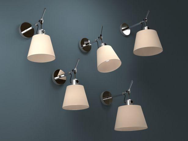 Tolomeo Parete Diffusore 3d Model By Design Connected 3d Models Lampen