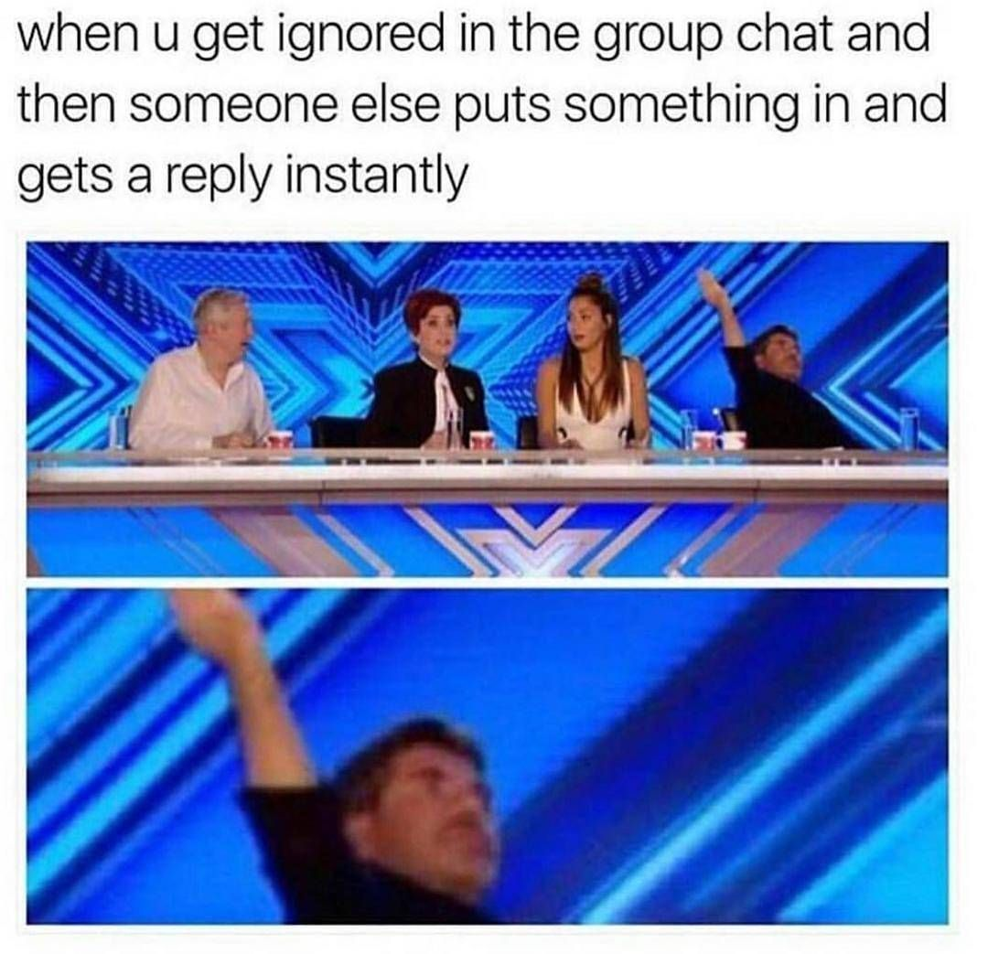 Group Chat Instant Ignore Roast Message Groupchat Group Chat Reply Funny Photos Group Chat Meme Super Funny Memes