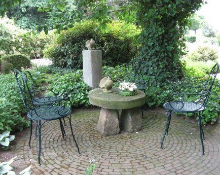 Charming Intimate Patio Privatgarten Garten Gartnerei